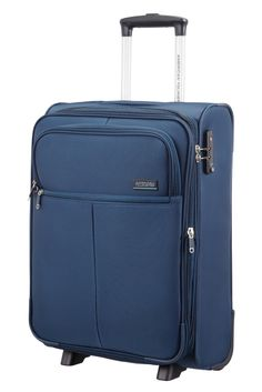 American Tourister Atlanta Heights Upright 55cm Exp. Navy Blue