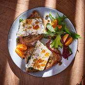 Terrine de fromage et fruits secs - une recette Automne - Cuisine
