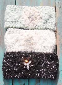 Knit Cowgirl Headwraps Perfect western headband for that rhinestone cowgirl $23.99