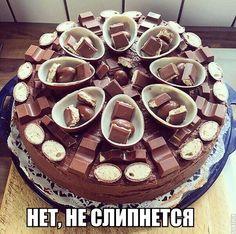 Imagen de cake, chocolate, and food Cupcakes, Cake Cookies, Cupcake Cakes, Surprise Cake, Egg Cake, Amazing Cakes, Chocolate Cake, Love Food, Cake Decorating