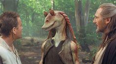 Jar Jar Binks è un personaggio di Star Wars che mi piace, è buffo e simpatico. Anche nel suo modo di muoversi è abbastanza comico e fa ridere.