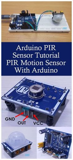 In this project, we will learn about PIR Sensor and how can it be used as a Motion Sensor through the Arduino PIR Sensor Tutorial. By going through this project, you can understand how PIR Sensor works and how to hook up a PIR Sensor to Arduino.