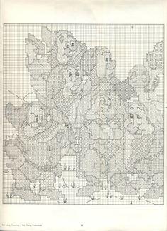 Walt Disney in counted cross stitch 8