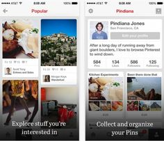 #PinterestCaseStudy Nov. 25, 2013: Pinterest Releases Insight on How a Small Team Created the Latest Redesigned Update