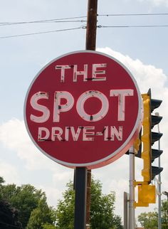 The Spot Drive-In - Kenosha, WI since the 1940s I must stop every time we visit - Love the burgers and root beer