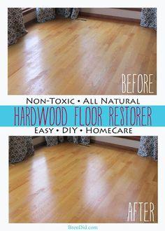 Restore your hardwood floors the non-toxic way, non toxic hardwood floor restorer http://brendid.com/all-natural-restorer-for-hardwood-floors/
