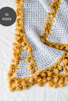 Bright Side Blanket // Crochet PDF Pattern – TL Yarn Crafts