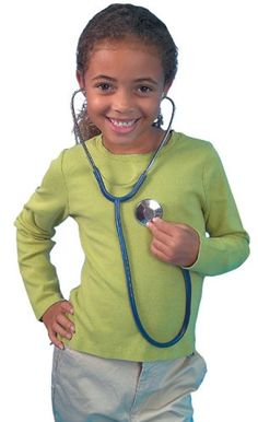 Learning Resources Child's Stethoscope Learning Resources http://www.amazon.co.uk/dp/B00004WKU2/ref=cm_sw_r_pi_dp_qiSXtb0VEY9WGVJW
