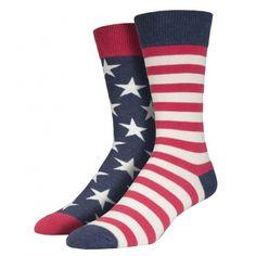 Purple Leopard Boutique - Men's Crew Socks USA American Flag Vintage Blue, $13.75 (http://www.purpleleopardboutique.com/mens-crew-socks-usa-american-flag-vintage-blue/)