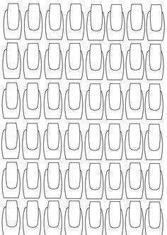 Planche d'ongles crée par Les folies de Poussi