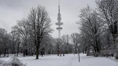 Sturmtief Friederike bringt Schnee nach Hamburg