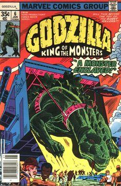 Godzilla #6 (Marvel)