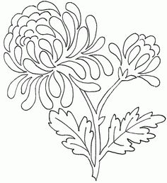 free flowers template that you can print out and use in your craft projects
