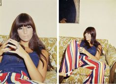 In 1965 the Cher style was considered daring and unique. pinned here January 2014.