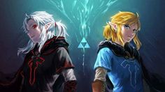 Link and (what looks like) Evil Link