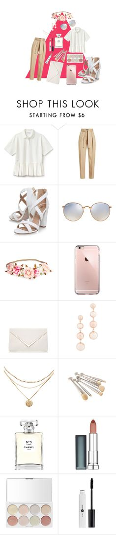 """Apex of Class"" by childishlambino ❤ liked on Polyvore featuring Lacoste, Polo Ralph Lauren, Miss KG, Ray-Ban, Rebecca Minkoff, Chanel and Maybelline"