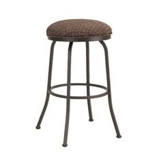 "Callee Baldwin 26"" Swivel Bar Stool Frame Finish: Sun Bronze, Upholstery: Corona Earth"