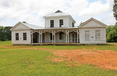 Abandoned home in Hale County, Alabama. Built in the 1840s but moved to this location in the past 10 years.