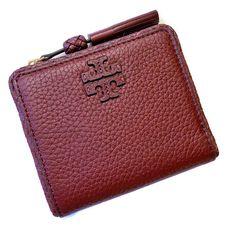 7aa59c6d177a TORY BURCH Taylor Mini Wallet ~ Leather Tassel Bifold Imperial Garnet ~ NWT   135  ToryBurch