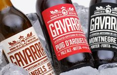 Gavarra - Designed by Font3studi | Country: Spain #packaging #creative #design