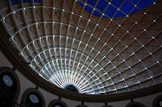 the Corn Exchange in Leeds has a dramatic roof, but when the sun goes down and the lights go on, it's beautiful Leeds Corn Exchange, Vanishing Point, Tourism, Graham, Gypsy, Spaces, Travel, Turismo, Viajes