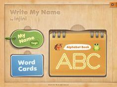 Una aplicación para los más pequeños donde podrán realizar sus primeros trazos a través del abecedario y un amplio registro de palabras, tanto en mayúsculas como en minúsculas. También permite crear etiquetas con el nombre del niño e integrar el fondo que se quiera.
