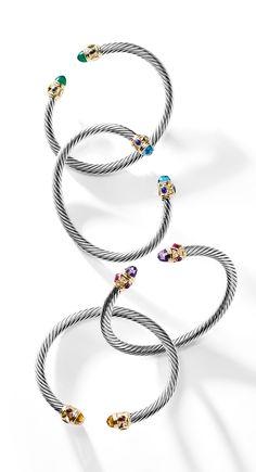Renaissance bracelets.