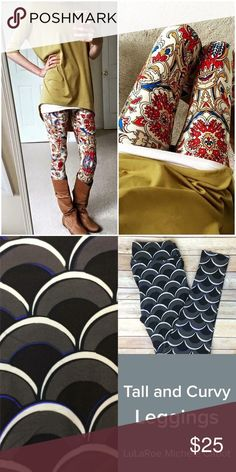 LOOKING FOR THESE PRINTS IN OS Looking for these Lularoe prints in os LuLaRoe Pants Leggings