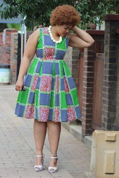 Ankara Xclusive: Beautiful Ankara African Print Style For Plus Size Ladies African Print Dresses, African Print Fashion, Africa Fashion, African Fashion Dresses, African Dress, Fashion Prints, African Outfits, Ankara Fashion, African Attire