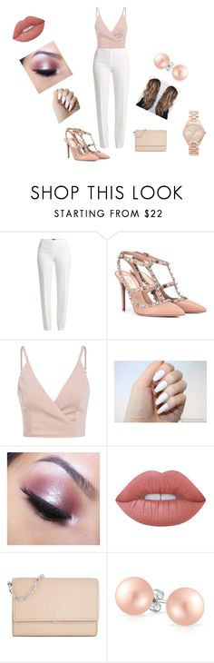 """""""Untitled #97"""" by cristina-jbt on Polyvore featuring Basler, Valentino, Too Faced Cosmetics, Lime Crime, Michael Kors and Bling Jewelry"""