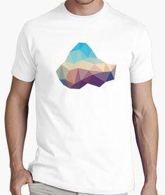 Camiseta creativa nebulosa