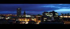 sheffield skyline night - Google Search