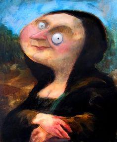Pinzellades al món: La Mona Lisa o Gioconda: versions sobre el quadre