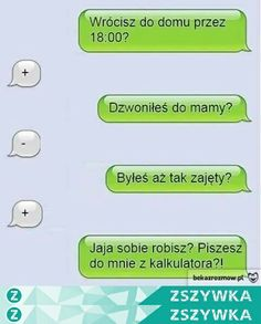 haha na Haha - Zszywka. Funny Sms, Funny Text Messages, Wtf Funny, Funny Texts, Funny Jokes, Happy Photos, Funny Photos, Funny Lyrics, Polish Memes