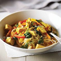 """Chicken Thukpa (Himalayan Noodle Soup)    Thukpa is a Himalayan noodle soup, usually served with meat and is really delicious with lean chicken. It is popular in Tibet, Bhutan, Nepal, and some parts of India. """"Thuk"""" means heart so it is a heart warming dish. In Bhutan it would usually be made with buckwheat noodles"""