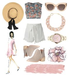 """""""Untitled #31"""" by swagmanda on Polyvore featuring Glamorous, IRO, Jeffrey Campbell, CÉLINE, DIANA BROUSSARD, Universal Lighting and Decor and Jane Iredale"""