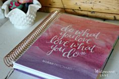 Review: The 2017 Erin Condren Life Planner by Norah Pritchard at Willowcrest Lane