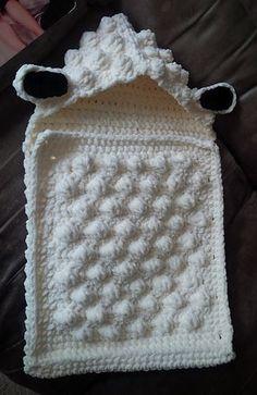 Sheep Baby Sleep Sack pattern by Alicia Cromwell