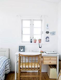 Blue summerhouse in Denmark Follow Gravity Home: Blog - Instagram - Pinterest - Bloglovin