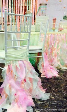 Cubiertas de la silla cubierta de la silla de por FloraRosaDesign