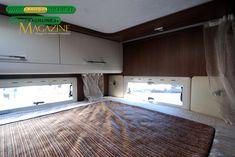 Roller Team T-Line Garage - il matrimoniale posteriore Roller Team, T Line, Garage, Kitchen Cabinets, Home Decor, Caravan Van, Carport Garage, Decoration Home, Room Decor