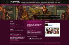 Web y varias aplicaciones online (exposiciones, fondos documentales, listado de artista navarros) para el Museo Gustavo de Maeztu de Estella - Calle Mayor Comunicación y Publicidad