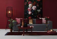 B L O G | Een rood industrieel interieur; inspiratie, tips en tricks voor deze warme najaarskleur / herfstkleur. Lees snel verder en laat je inspireren... industrial interior red