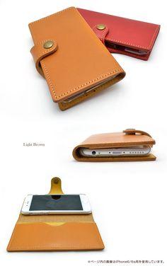 【楽天市場】iPhoneケース 【全国送料無料/在庫有】 iPhone7Plus iPhone6sPlus 手帳型ケース 栃木レザー 日本製 本革 手帳型…