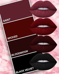 BURGUNDY IS BOSS. Shop the shade of the season on limecrime.com! More