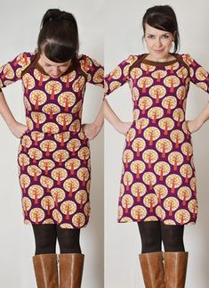 bronte zum Kleid verlängert