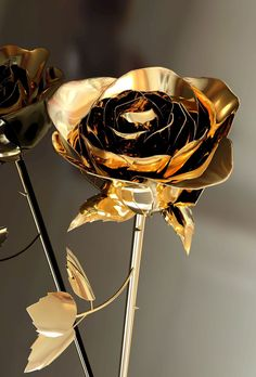 Gold is Oshun's metal. The rose is one of her flowers. https://www.tumblr.com/blog/marchenarajal