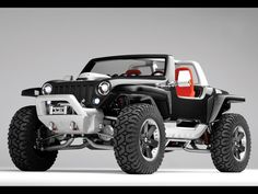 2005 Jeep(R) Hurricane Concept Vehicle