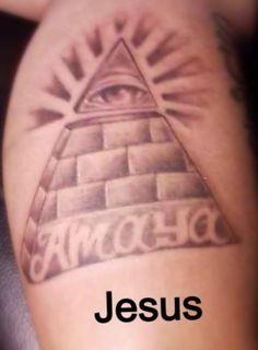 Crazy Cactus Tattoo-Scottsdale, AZ- Jesus- All Seeing Eye