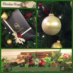 We've got Christmas all wrapped up at Rhodes-Wood in Harrogate.